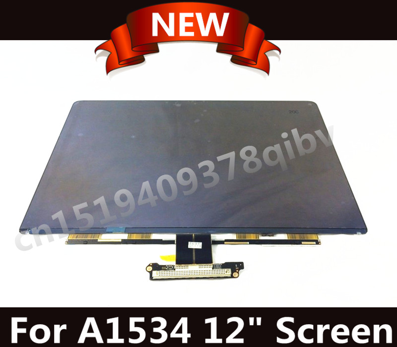 Genuine 12 Laptop Matrix for Macbook A1534 LCD LED Replacement Screen Display Brand New 2015 2016 Years q1292 67003 free shipping new original for hp100 110 encoder strip on sale on sale