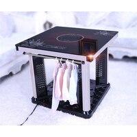 220 V Электрический домашний обогреватель зимние сохраняющие тепло нагрева квадратный стол с электрическая индукционная плита Функция HYM-1