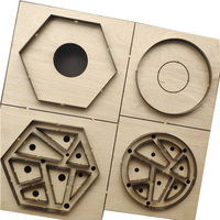 Japan Steel Blade Rule Die Cut Steel Punch Tangram Puzzle Cup Mat Cutting Mold Wood Dies Cutter for Leather Crafts