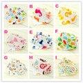 Impermeable Muchachas de Los Bebés Baberos Saliva Toalla Niños Almuerzo Baberos de Bebé Bebés de Dibujos Animados Patrón de Paños Para el Eructo de IA Diseños