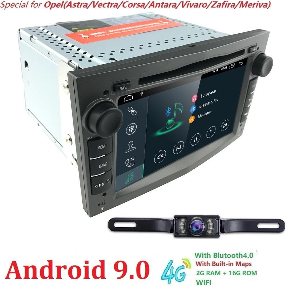7 2Din Android 9 0 Car DVD Player for Opel Astra Vectra Corsa Antara Vivaro Zafira