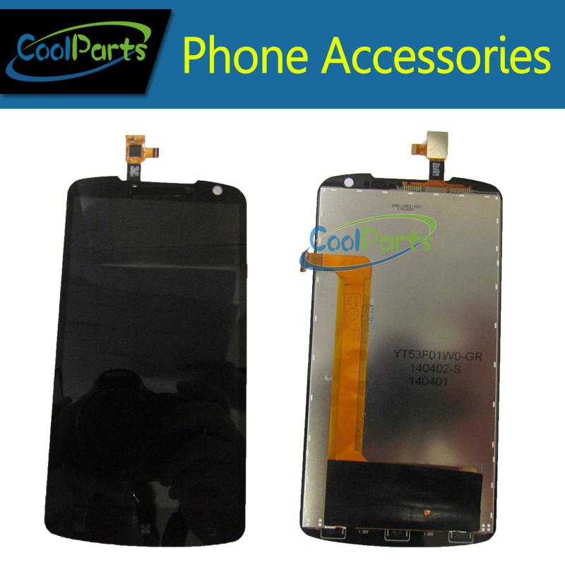 Black color For Lenovo S920 LCD Display and Touch Screen Digitizer 1PC/Lot lenovo s920