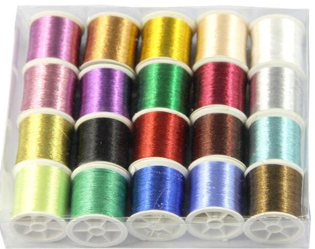 Металлические нити для вышивки