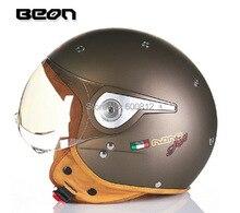 2015 новый подлинный нидерланды BEON модный пол-лица мотоциклетный шлем электрический велосипед шлемы B110A для мужчин и женщин