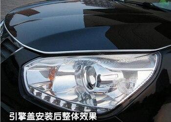 3m Car styling CHROME U STYLE TRIM STRIP Auto decoration for Peugeot 307 308 207 3008 2008 407 508 206 208 406 accessories peugeot 307 aksesuar