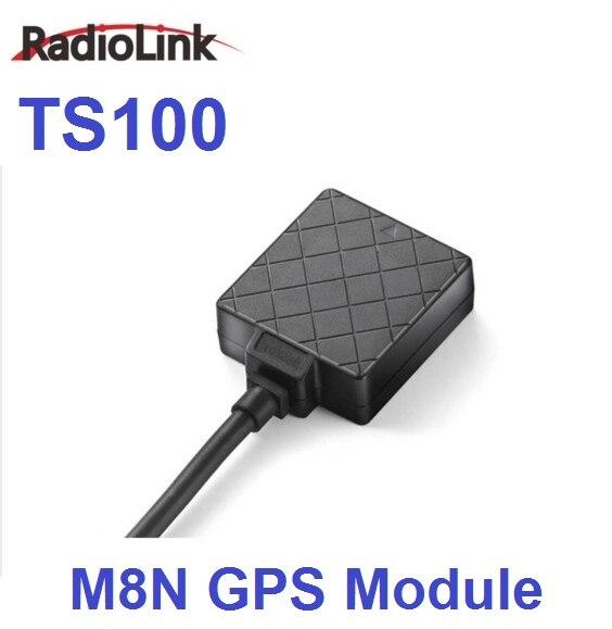 Más nuevo Radiolink TS100 Mini M8N 8N módulo GPS para Radiolink Mini PIX Pixhawk controlador de vuelo FPV RC Quadcopter Multirotor