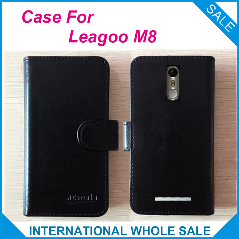 ¡Caliente! 2017 M8 Case Leagoo Phone, 6 colores Funda exclusiva de - Accesorios y repuestos para celulares