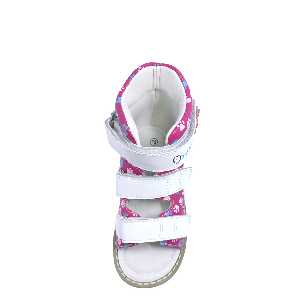 de120f559d ... breathable kid strap shoes orthopedic sandals children summer flat shoes  baby rhinestone girl leather arrival 2018 ...