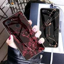 цена Marble Tempered Glass Case For Xiaomi Redmi Note 6 5 Pro 5A Prime S2 Cases for Xiaomi PocoPhone F1 Mi 9 8 SE Lite A1 A2 Max 3
