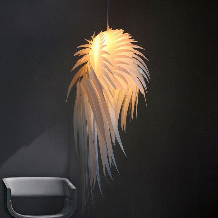 Modern PVC White Angel Wings Pendant Lights Fixture Feather Droplights Home Indoor Bedroom Dining Room Club Cafes Shops Lights сменный модуль для систем фильтрации воды гейзер 501 2 шт