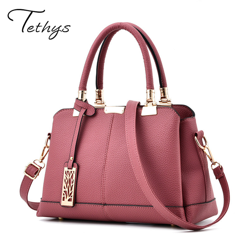 Free Shipping Fashion Women Leather Handbags Litchi  ladies messenger bag crossbody bag Brand designer tote bag bolsos mujer de free shipping new fashion brand women s single shoulder bag lady messenger bag litchi pattern solid color 100