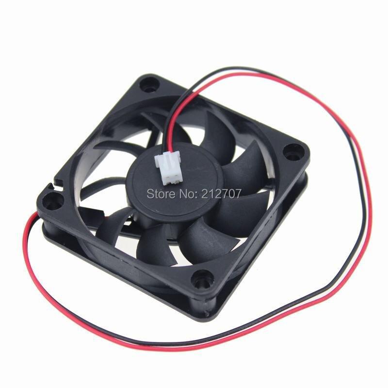 1 шт. Gdstime 6015 24V 2Pin DC охлаждающий вентилятор Cooler 6 см 60 мм 60x60x15 мм