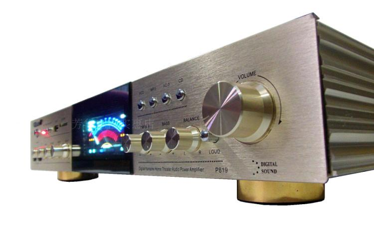 Ktv karaoké OK 2 canaux 400 W + 400 W haute puissance avec amplificateur Bluetooth USB SD jack hifi AV