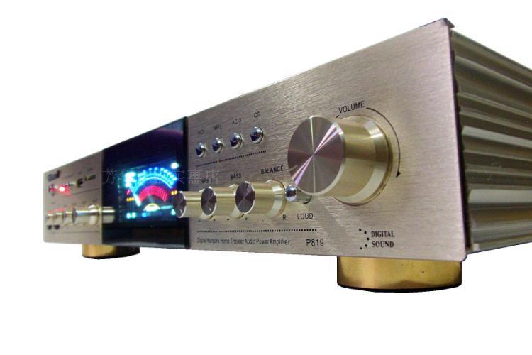 цены ktv karaoke OK 2-channel 400W + 400W high power with Bluetooth USB SD jack hifi AV amplifier