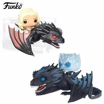 게임의 왕좌 액션 피규어 장난감 daenerys 나이트 킹 드래곤 존 스노우 tyrion 유령 pvc 완구 컬렉션 어린이를위한 선물