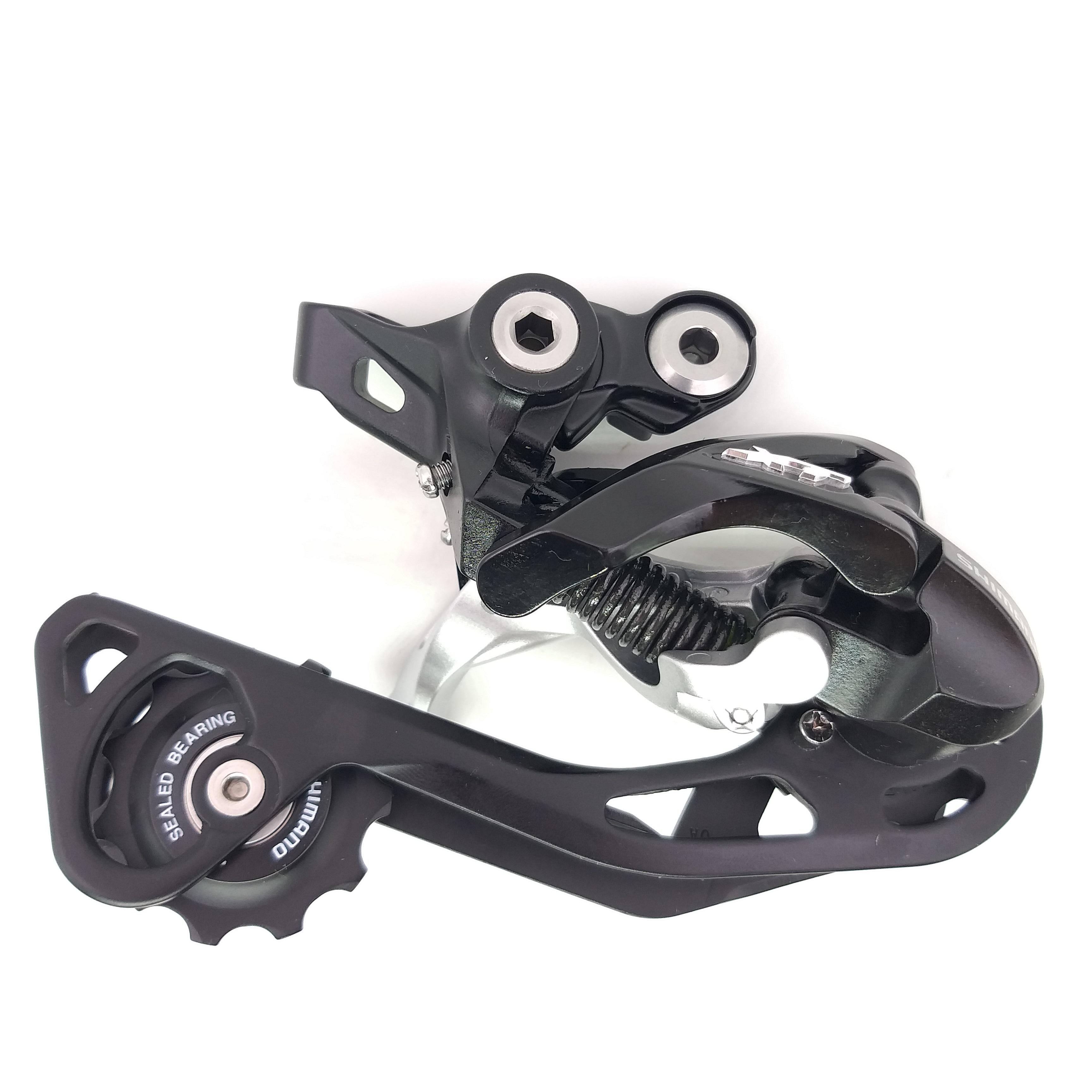 Shimano XT RD-M781 RD-M786 M781 M786 10 vitesses VTT vélo ombre arrière dérailleur noir longue Cage
