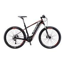 SAVA Electric Bicycle Carbon Fiber e bike 27.5″ Mountain MTB Pedelec Bike w/Shimano M8000 XT 22S and SAMSUNG Li-ion Battery