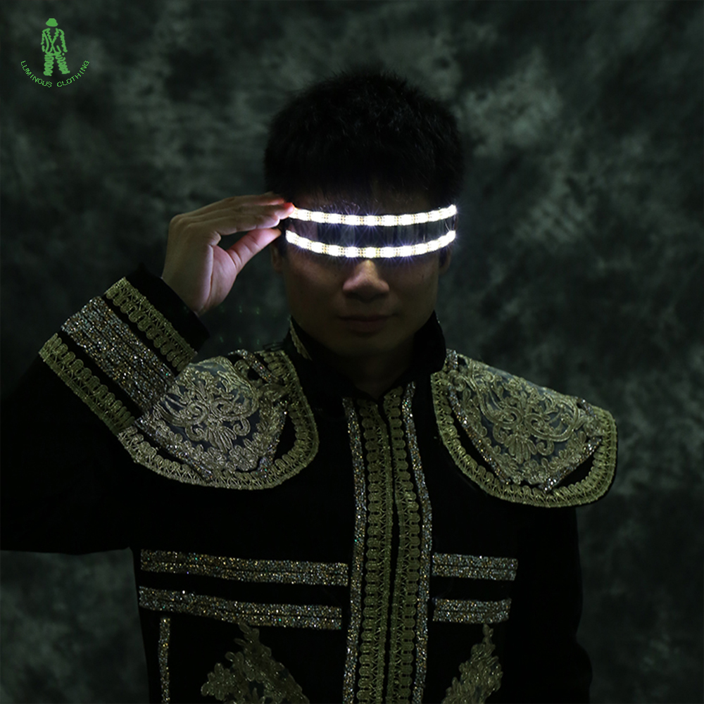 Ilmainen toimitus 6 erilaista värillistä LED-salamaalasia - Tavarat lomien ja puolueiden - Valokuva 2