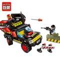 Enlighten 240 unids serie policía swat poder educativo bloques de construcción de ladrillos de juguetes para los niños