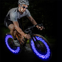 High Quality Bicycle Bike Wheel LED Lights Tire Valve Lamp Gas Lamp Cool Colorful Lights 3 Colors Cycling Accessories Wholesale