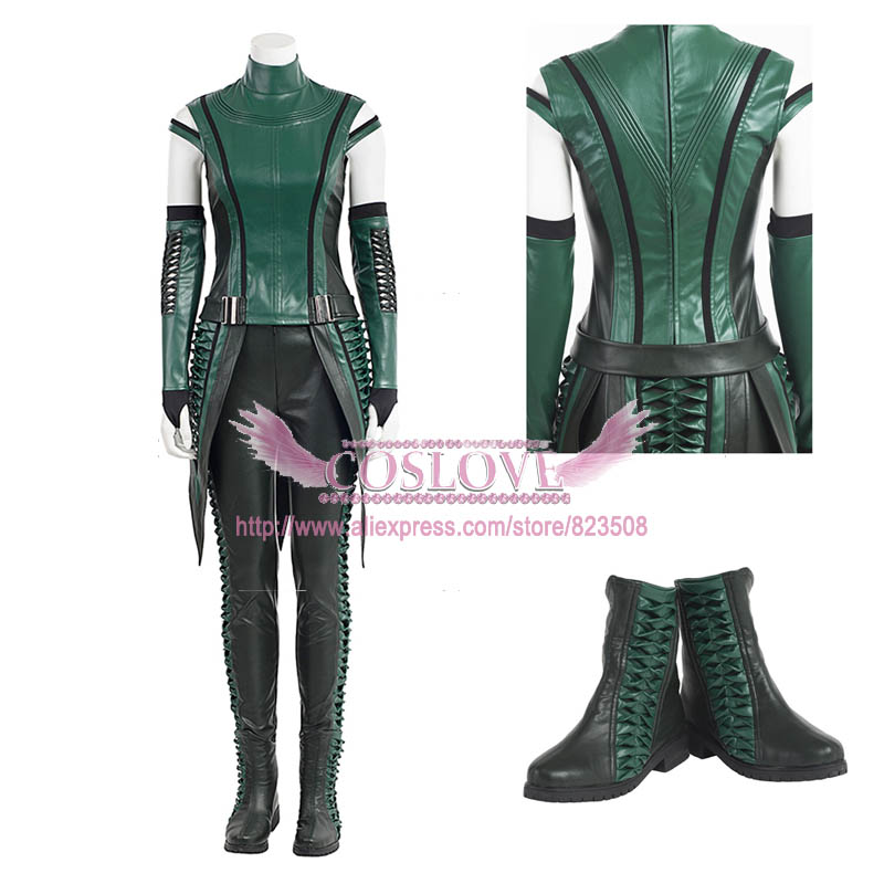 Marvel Guardians of the Galaxy Vol. 2 Mantis Cosplay Costume Dress Custom Made For Halloween Christmas
