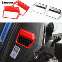 Sansour For Ford Mustang 2015 2016 2017 Side tuyere accessories stickers mustang F150 modification car interior trim