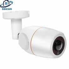 купить SSICON 5MP Sony236 Sensor AHD Bullet Fisheye Camera Outdoor Waterproof 1.7mm Lens 180 Degree CCTV Camera With OSD Menu дешево