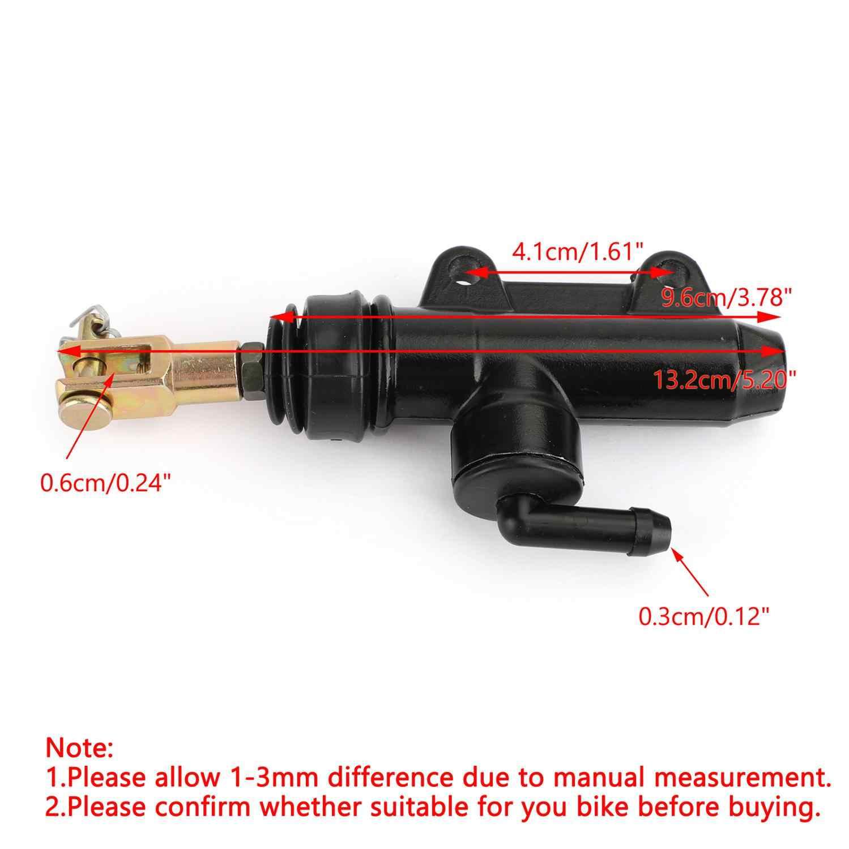 Areyourshop para KTM 125, 250, 300, 400, 620, 640, 660 de los BSA EXC SX LC4 pie trasero hidráulico cilindro maestro del embrague bomba de freno 54513101044