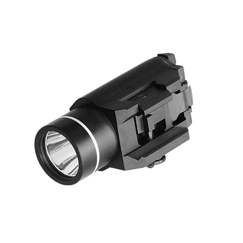 450 lumens luz tatico lanterna lanterna airsoft caca glock ferroviario arma pistola de