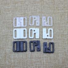 Webbing Plastic Adjuster with bar Swivel Clip D-Ring Loop Insert Buckle Backpack Straps 14 mm/20 mm 30 pcs/lot