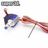 3D Printer V5 J-head Hotend 12V 0.4mm nozzle with cooling fan all metal throat  for 1.75mm Bowden/Wade Extruder E3D