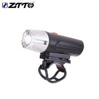 ZTTO Bike Lamp Bicycle Light Waterproof USB Rechargeable Li Battery High Brightness LED Outdoor Flashlight Front Headlig