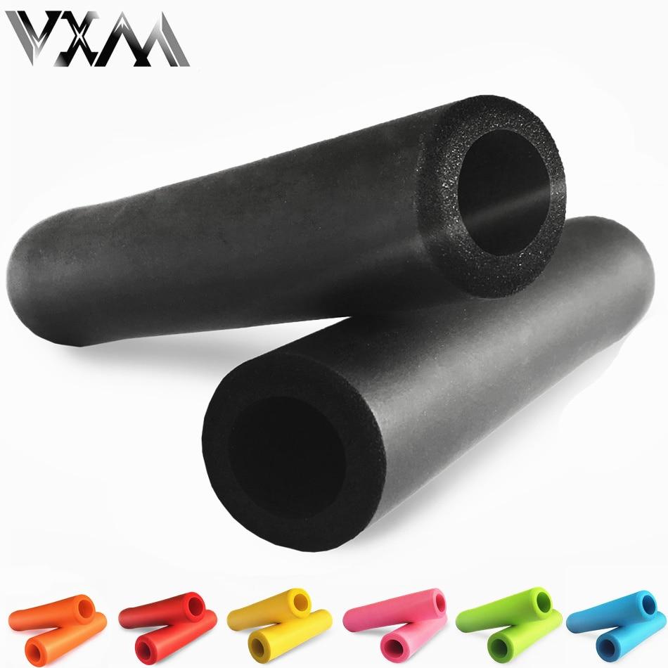 VXM Bicycle Grips High Density Handlebar Silica Gel/foam Silicone Sponge MTB Bike Grips Of XC/AM Lightweight Antiskid Super Soft