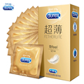 Condoms for Men 12pcs in 1 Box Ultra Thin Adult Sex Toys More Lubricant Feel Thin Quality Product Durex