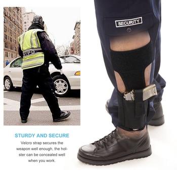 Concealed Carry Ankle Leg Holster for Glock 17 19 22 23 Ruger Lcp Sig 9mm Gun Pistol 3