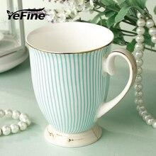 YEFINE керамические кофейные кружки послеобеденные черные фарфоровые чайные чашки экологически чистые и здоровые керамические чашки и кружки Посуда для напитков чашка для молока