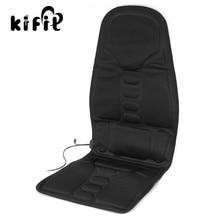 KIFIT Multifunctional Car Chair Body Massage Heat Mat Seat Cover Cushion Neck Pain Lumbar Support Pad