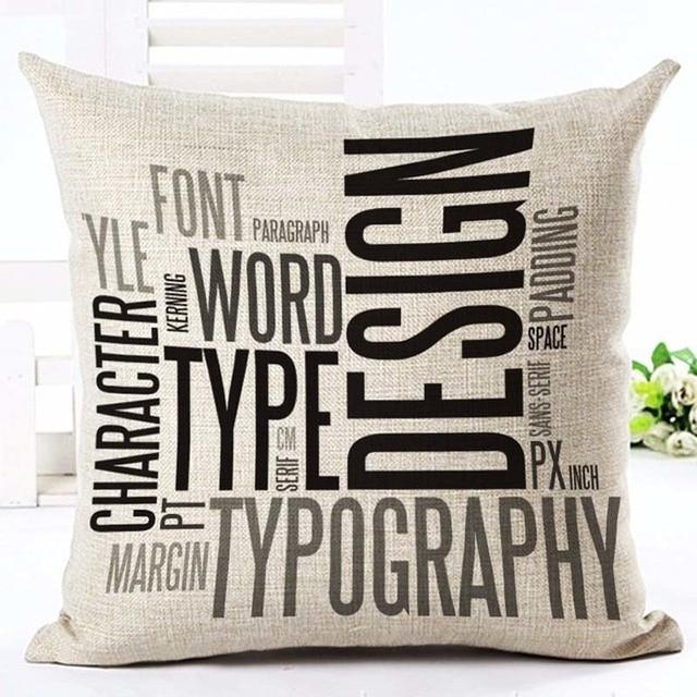 Home Linen Pillowcase Size: 45cm WT0057 Color: 25