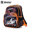 Luxcel waterproof Boy School Backpack Racing Car cartoon children schoolbag/kids baby bags escolar mochila