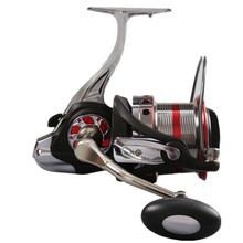 distant wheel spinning wheel 12000 collection outsized fish wheel metallic stainless-steel large reel fishing reel fishing instrument