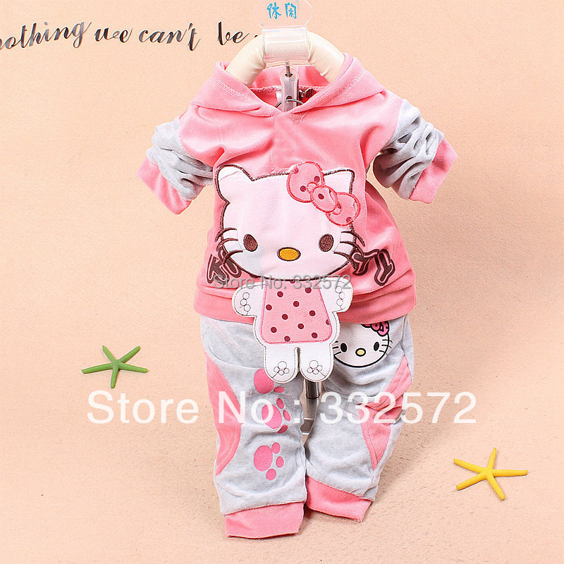 new spring autumn baby clothing velor track suit girl dress baby girl newborn casual dress Free