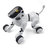 Электронные Pet удаленного Управление Smart электронная собака 2,4G Беспроводной интеллектуальные говорить робот собака Детские игрушки Новый