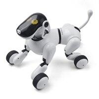 Электронный ПЭТ пульт дистанционного управления Умная Электронная Собака 2.4g беспроводное устройство умный говорящий робот собака Детские