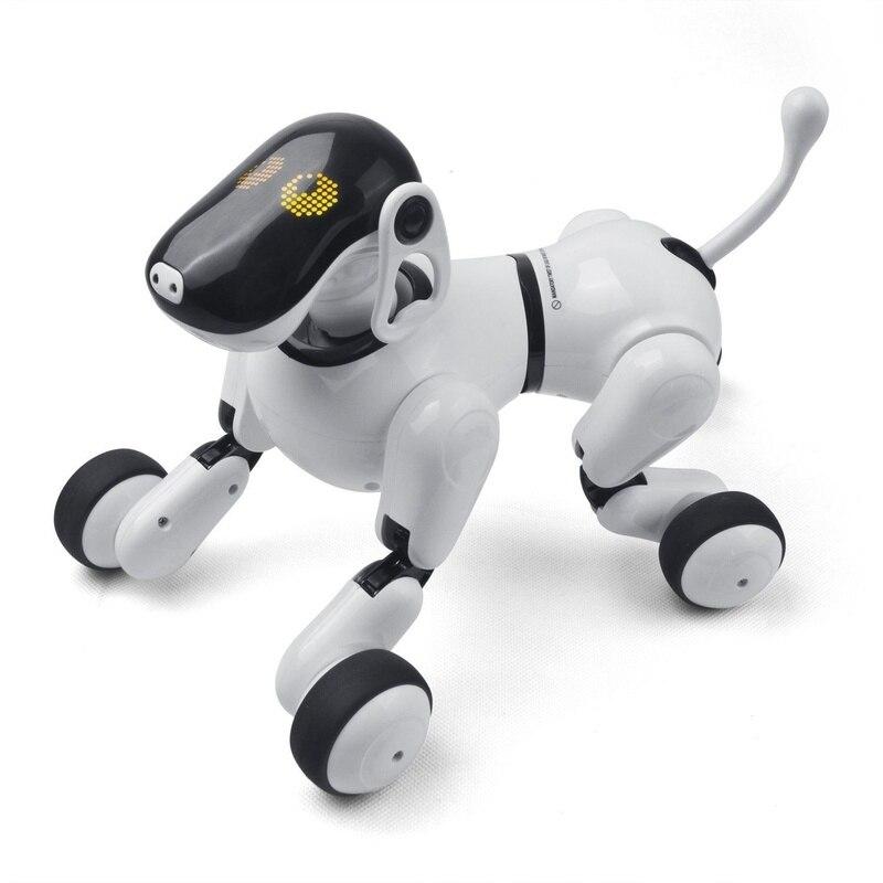Animal électronique Télécommande Smart Électronique Chien 2.4g Sans Fil Intelligent Parler Robot Chien Enfants Jouets Nouvel An Cadeaux De Noël
