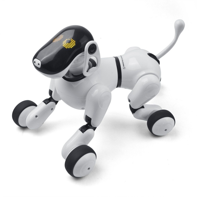 Animal de compagnie électronique télécommande Smart Électronique Chien 2.4G Sans Fil Intelligent Parler Robot Chien jouets pour enfants Nouvel An Cadeaux De Noël