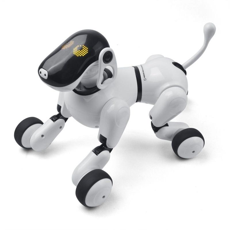 Electrónica para perros mascotas Control remoto inteligente robot electrónico inalámbrico Robot parlante inteligente perro juguetes para niños Año Nuevo regalos de navidad - 2