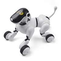 Electronic Pet Remote Control Smart Electronic Dog 2.4G Wireless Intelligent Talking Robot Dog Kids Toys New Year Xmas Gifts