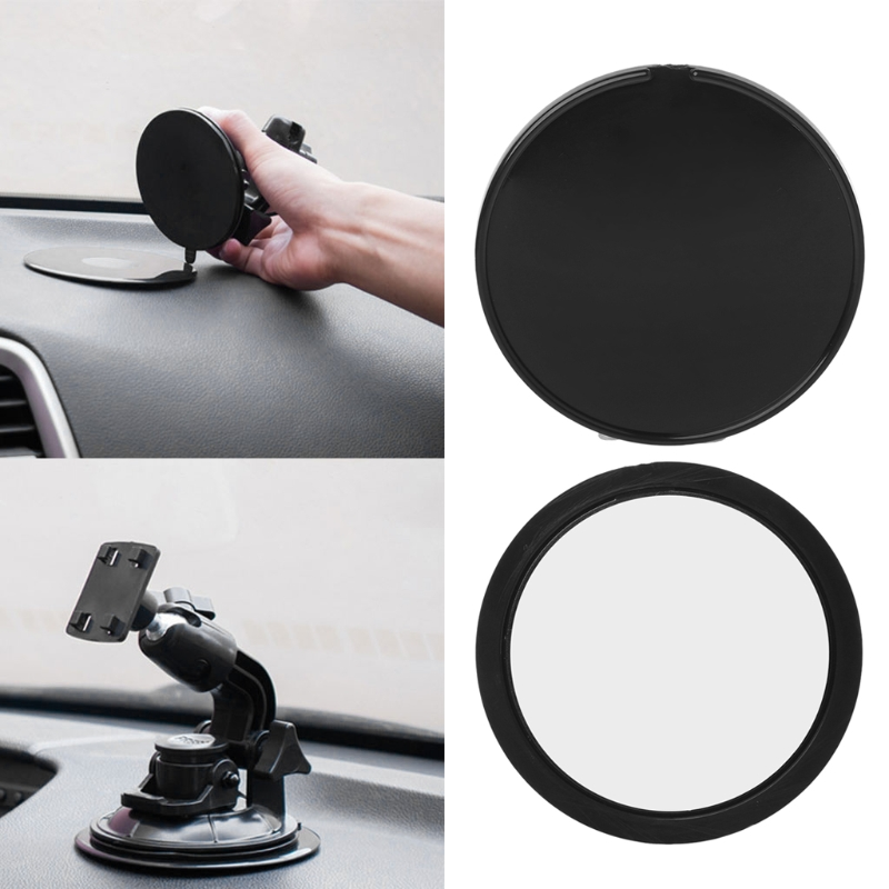 New Hot 1 Pc Auto Car Dashboard Sucker Mount Base Adhesive Disc 85mm For Phone Tablet GPS Holder High Quality Car Accessories