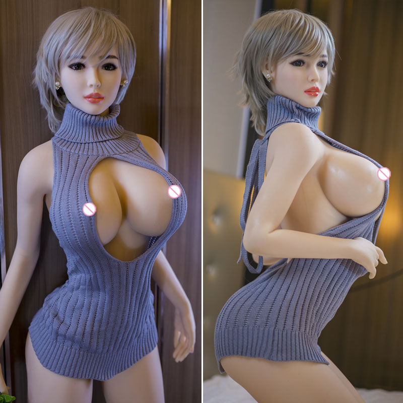 <font><b>165cm</b></font> Real Silicone <font><b>Sex</b></font> <font><b>Dolls</b></font> Big Boobs Japanese Adult Vagina Anus Oral Love <font><b>Doll</b></font> For Men Realistic Pussy Sexy Toy image