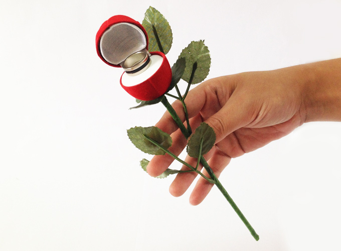 Rose ring box online